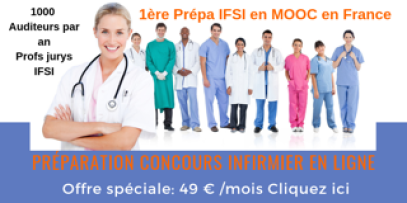 formation, preparation ifsi, concours infirmier,